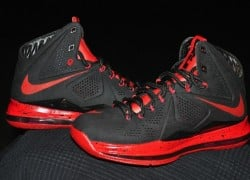 "Nike LeBron 10 ""Black Out Denim"" by DEZ Customz"