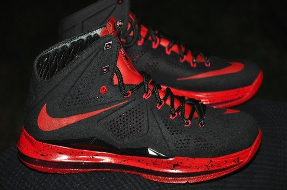 Nike LeBron 10 Black Out Denim by DEZ Customz