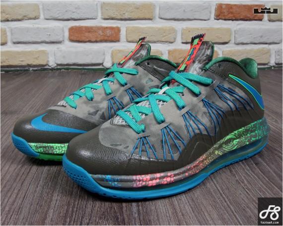 Nike LeBron 10 Low Reptile Release Date