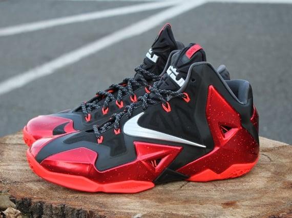 best service 90ac8 fed41 Nike LeBron 11 Heat Away Release Reminder