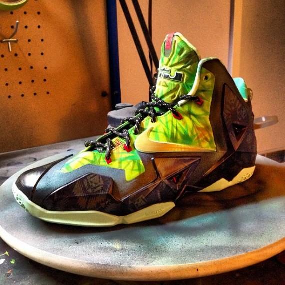 Nike LeBron 11 MVP by Lancer Customs