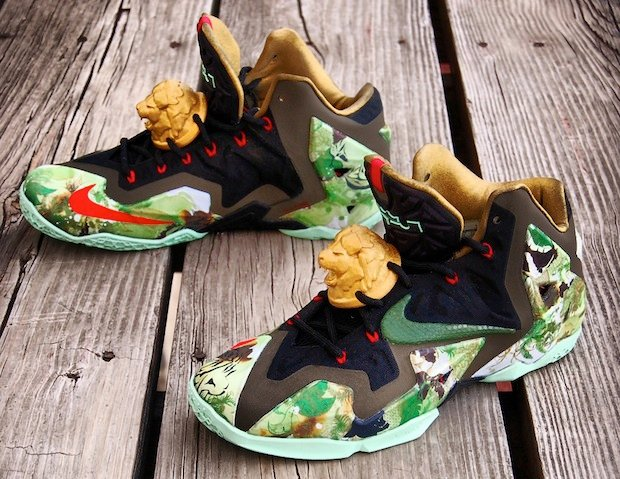 nike-lebron-xi-11-king-of-the-jungle-custom-2