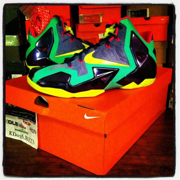 Nike LeBron 11 T-Rex Mens Size First Look