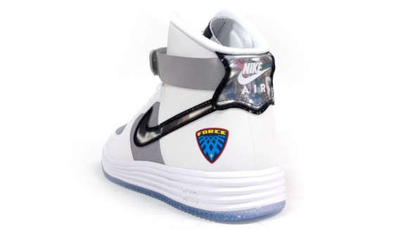Nike Lunar Force 1 Hi WOW QS White Metallic Silver Another Look