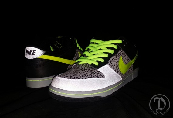 Nike SB Dunk Low 112 by Dank Customs