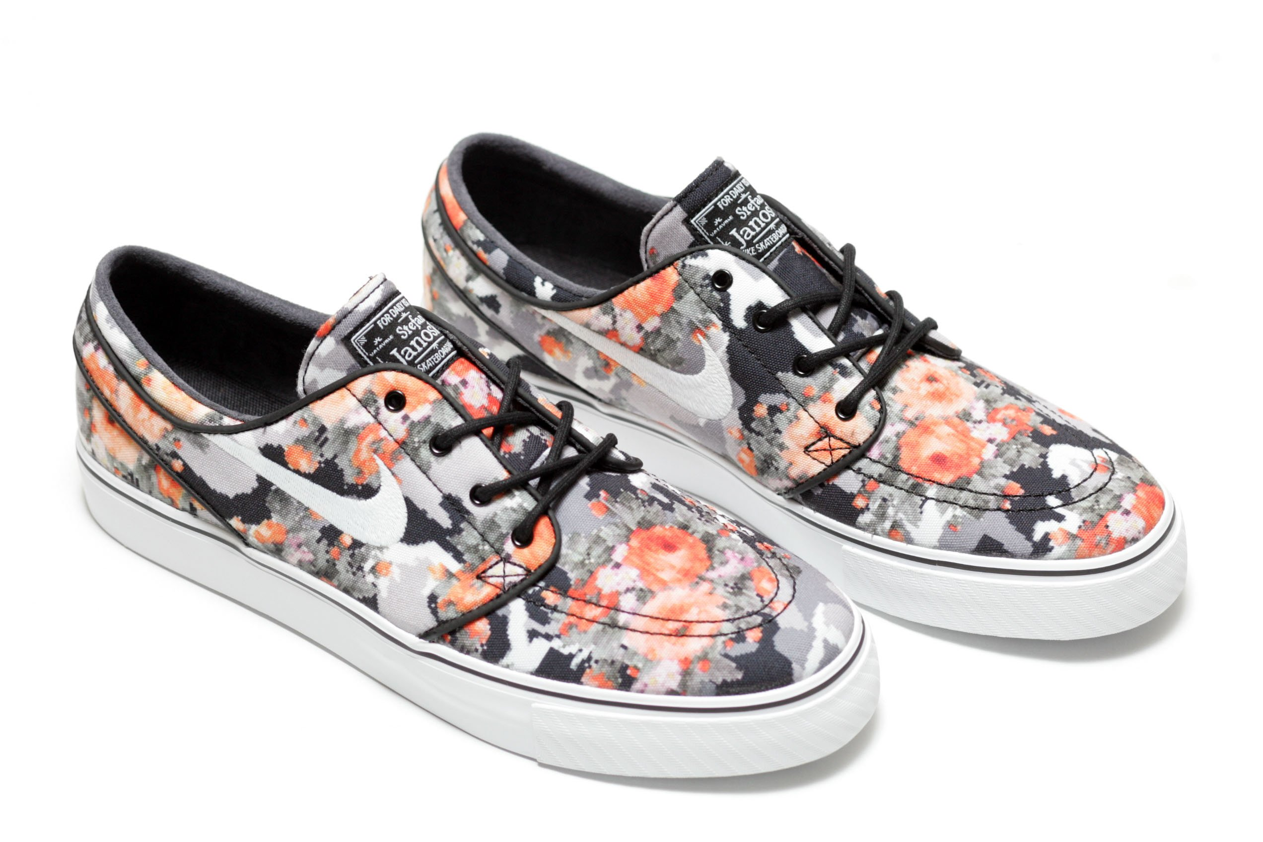 Floral Nike Sb Shoes