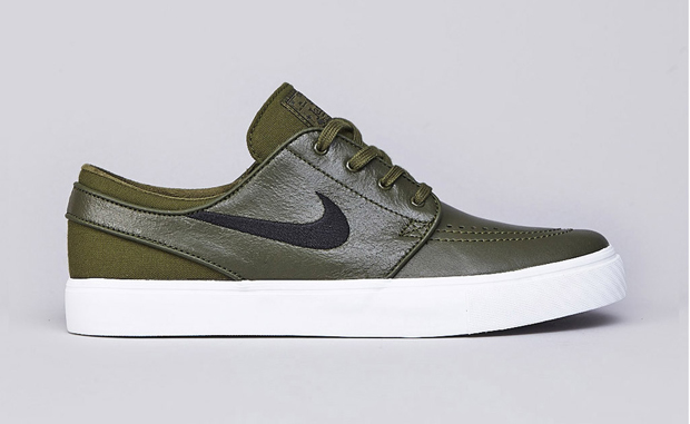 Nike SB Stefan Janoski Leather Legion Green/Black-White