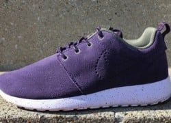 Nike WMNS Roshe Run Suede 'Purple Dynasty/Medium Olive'