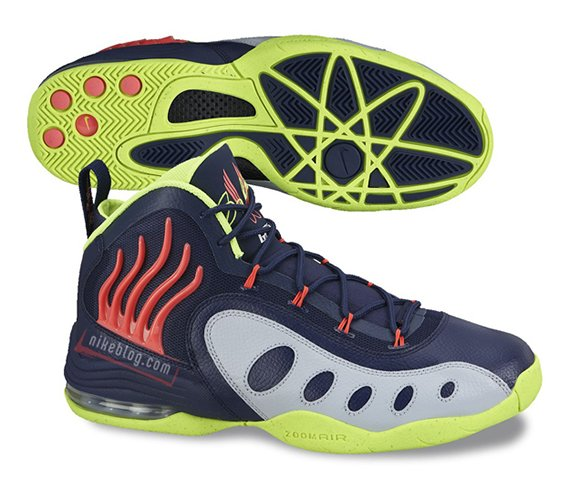 Nike Zoom Sonic Flight Obsidian Volt Silver First Look