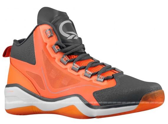 Reebok Q96 Grey Orange