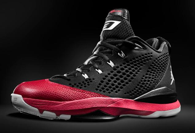 d63ebafcedf95b Release Reminder  Jordan CP3.VII  Black White-Gym Red-Cement Grey ...