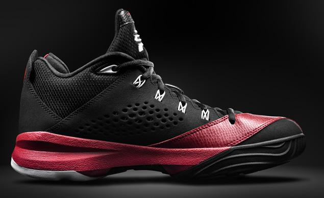 Cheap Air Jordan CP3.VII Men Shoes Black White Red