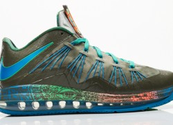 Release Reminder: Nike LeBron X (10) Low 'Reptile'