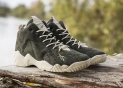 Sneakersnstuff x Reebok Kamikaze II Mid 'Herringbone'