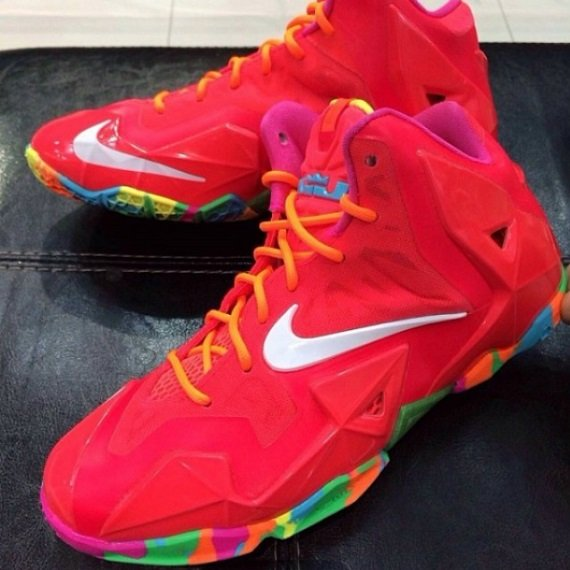 Nike Lebron 11 Imagenes Gs Fruity Pebbles Imagenes 11 Mas Detalladas 844a68