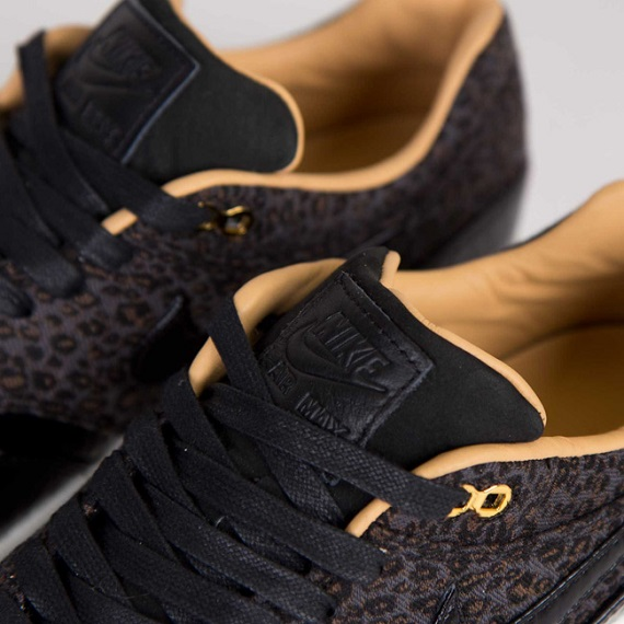 Nike Air Max 1 FB Woven Black and Metallic Gold