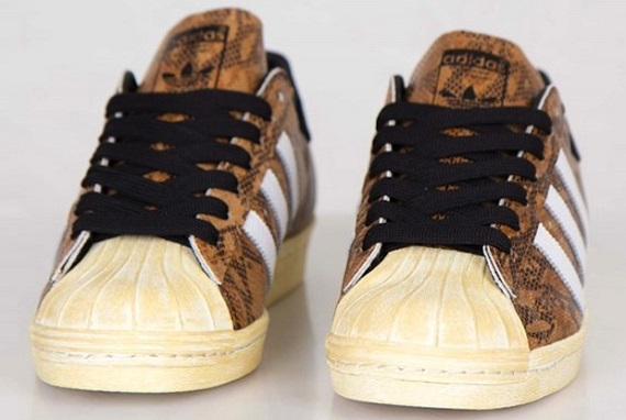 """adidas Originals Superstar 80s """"Snakeskin"""" - Available Now"""