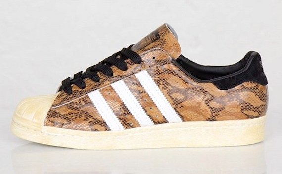 "adidas Originals Superstar 80s ""Snakeskin"" Available Now"