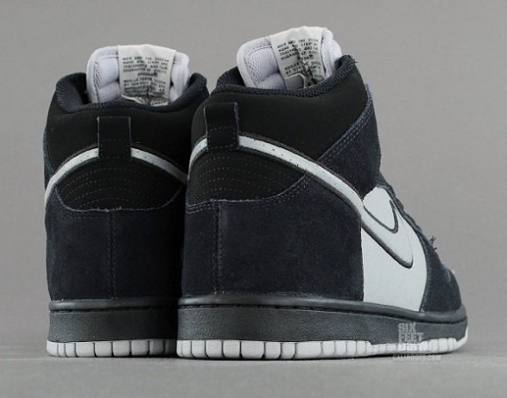 Nike Dunk High Black Reflective Silver - Sneak Peek