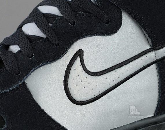 Nike Dunk High Black Reflective Silver - Sneak Peek