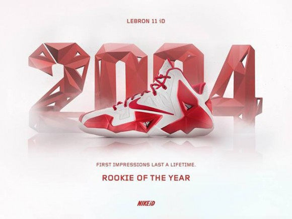 NIKEiD Concept LeBron 11 Rookie of the Year