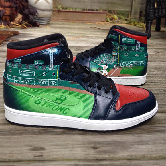 Boston Strong AJ1 Fuda
