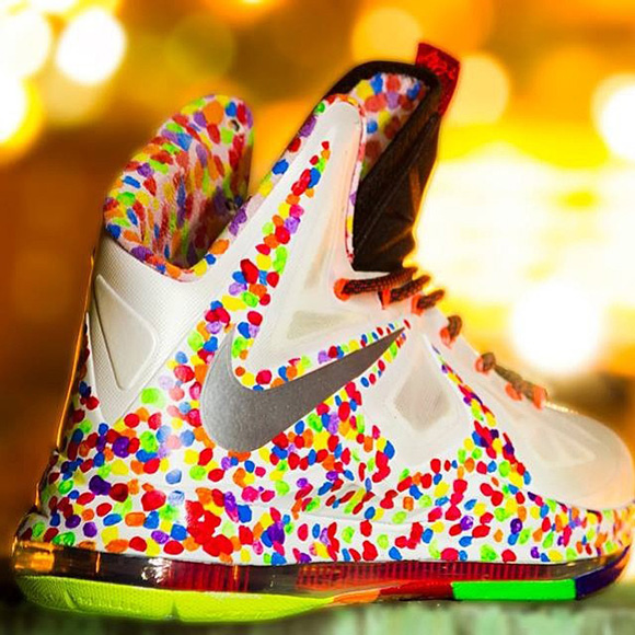 NIKE LEBRON – LeBron James Shoes » Available Now: LEBRON ... |Lebron 10 Fruity Pebbles