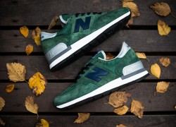 "New Balance 990GB ""Forest/Navy"" – Available Now"