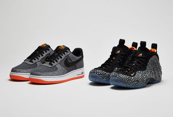 Nike Air Force 1 & Air Foamposite One Safari Collection