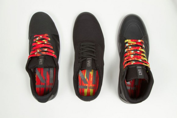 Vans LXVI Red Dawn Collection