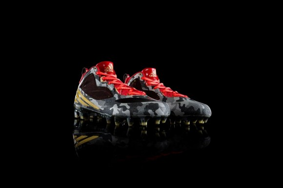 adidas & RGIII Celebrate Veteran's Day with Signature Cleat
