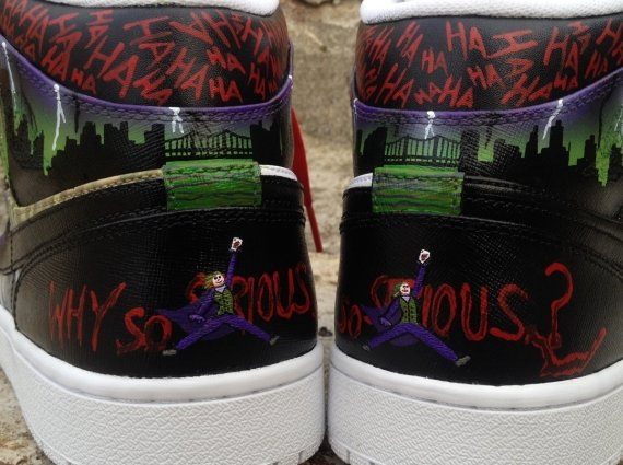 Air Jordan 1 Joker by DeJesus Customs