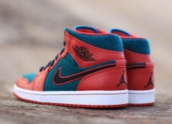 Air Jordan 1 Mid 'Gym Red/Black-Dark Sea' | New Images