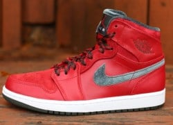 Air Jordan 1 Retro Hi Premier 'Varsity Red/Dark Army-White' | Hitting Retailers