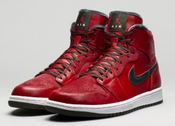 Air Jordan 1 Retro Hi Premier 'Varsity Red/Dark Army-White' | Official Images
