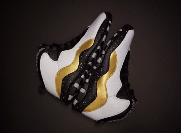 Air Jordan 10 Oro-eo by Ramses Customs