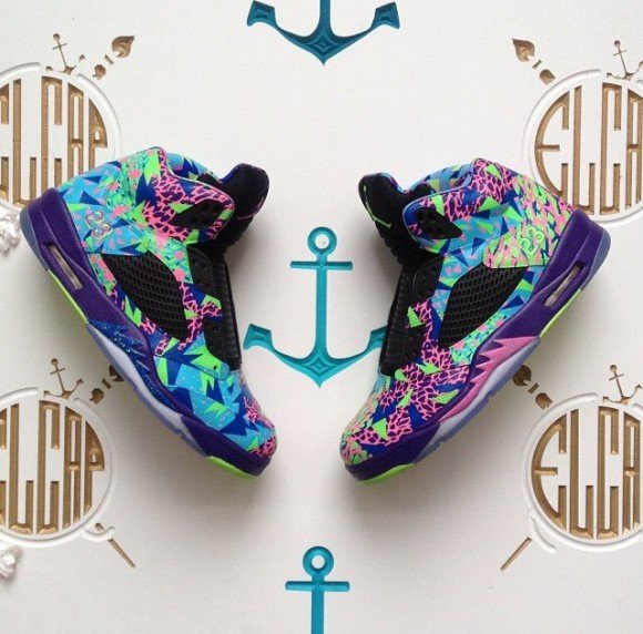 Air Jordan 5 Bel Air by El Cappy