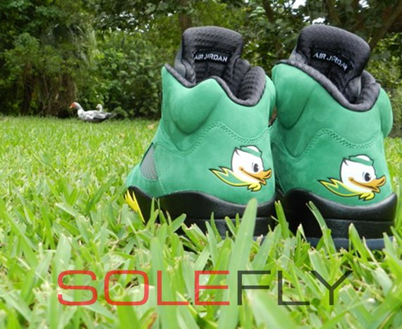 Air Jordan 5 Ducks Yet Another Detailed Look