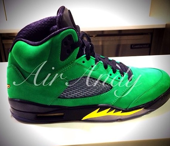 Air Jordan 5 Oregon Ducks PE