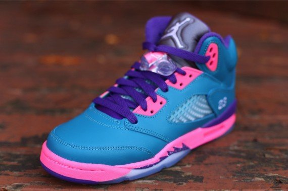 "4554b56e7a182e Air Jordan 5 GS ""Tropical Teal"" – Release Date"