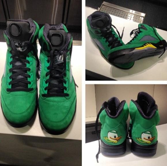 100% authentic 24a8e b683d Air Jordan 5 Oregon Ducks PE