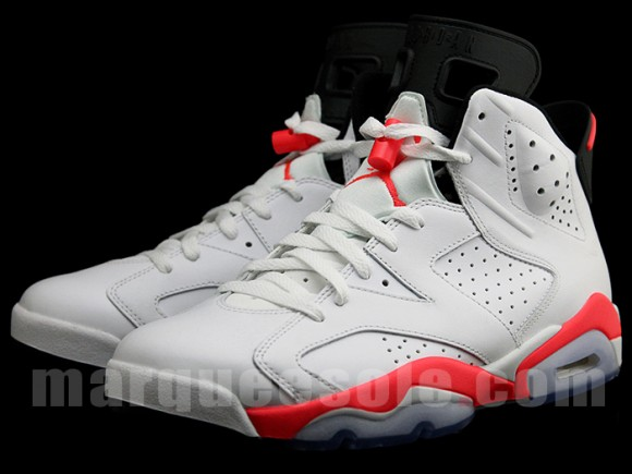 Air Jordan 6 Infrared Yet Another Detailed Look