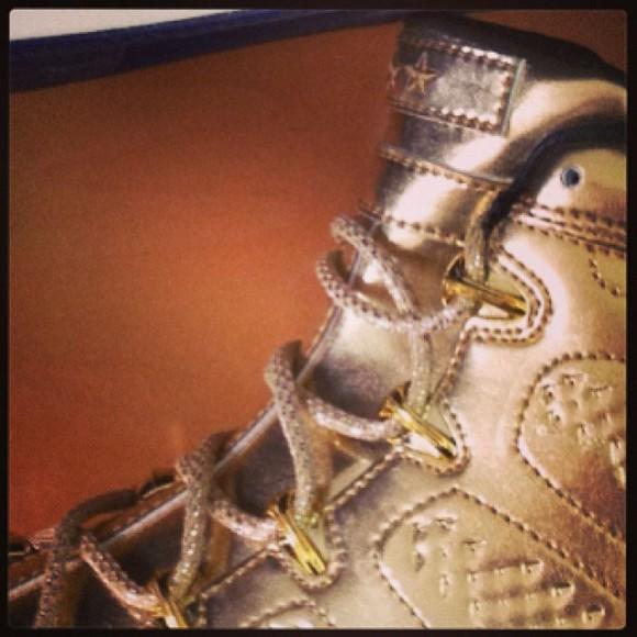 Usher's Silver Air Jordan 9