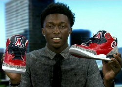 Air Jordan III (3) 'University of Arizona' Custom for Stanley Johnson