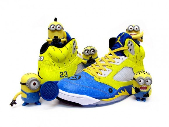 Air Jordan V Minion by Sekure D