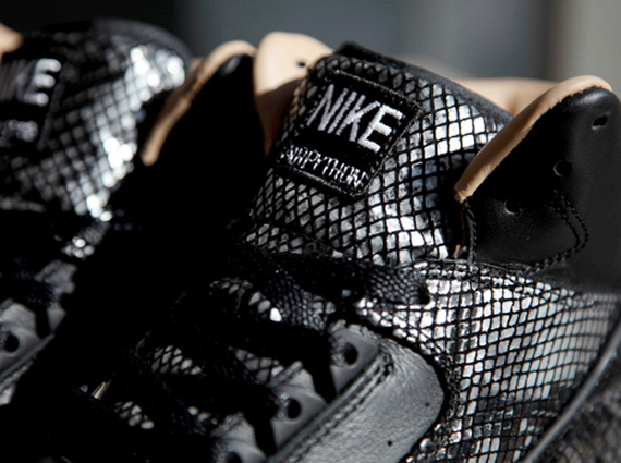 Nike Air Python Black Detailed Look