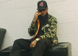 Celebrity Sneaker Watch: Stalley in Maison Martin Margiela x Converse