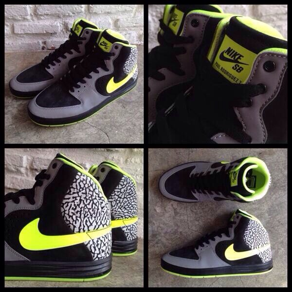 Nike SB P Rod 7 High Size 9.5 New In Box