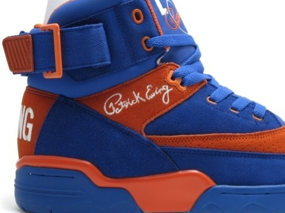 Ewing 33 Hi Dazzling Blue Vibrant Orange