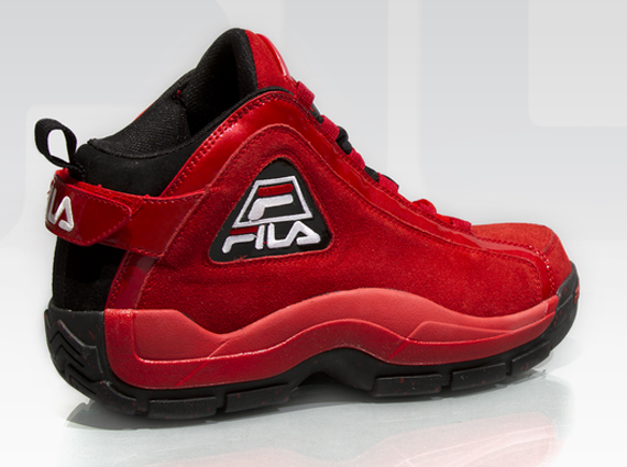 FILA 96 Red Suede Another Look